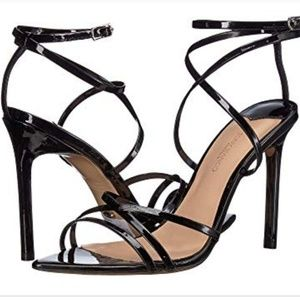 Tony Bianco Marcy Stiletto Blacks Strappy Heels